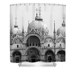 St. Marks Shower Curtain by Donna Corless