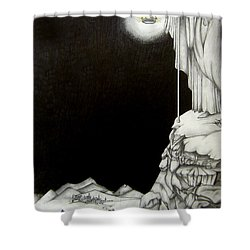 Stairway To Heaven Shower Curtain by Patrice Torrillo
