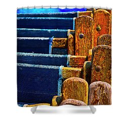Standing Room Only Shower Curtain by Skip Hunt