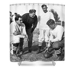 Stanford Coach Pop Warner Shower Curtain by Underwood Archives