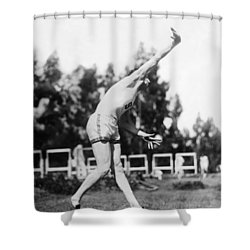 Stanford Field Star Hartranft Shower Curtain by Underwood Archives