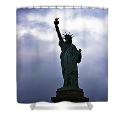 Statue Of Liberty May 2016 Shower Curtain by Sandy Taylor