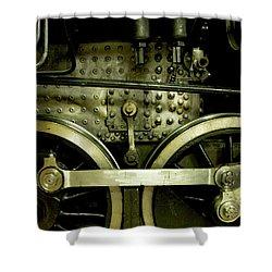 Steam Power I Shower Curtain by Theresa Tahara