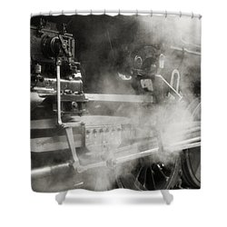 Steam Power Shower Curtain by Richard Rizzo