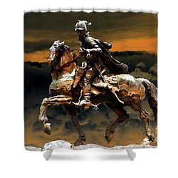 Storm Bringer Shower Curtain by David Lee Thompson