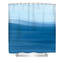 Shower Curtain featuring the painting Storm Day by Frank Tschakert