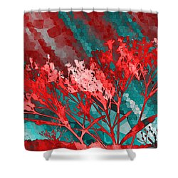 Stormy Weather Shower Curtain by Shawna Rowe