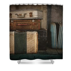 Stranded Shower Curtain by Amy Weiss