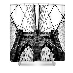 Strong Perspective Shower Curtain by Az Jackson