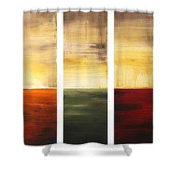 Summer Fields By Madart Shower Curtain by Megan Duncanson