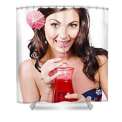 Summer Holidays Shower Curtain by Jorgo Photography - Wall Art Gallery
