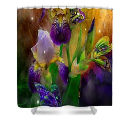 Summer Life Shower Curtain by Carol Cavalaris