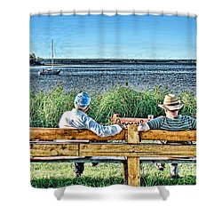 Summer Memories Shower Curtain by Patricia L Davidson