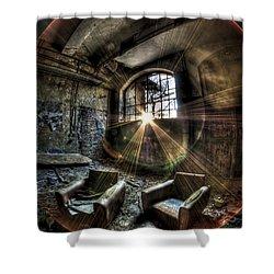 Sunburst Sofas Shower Curtain by Nathan Wright