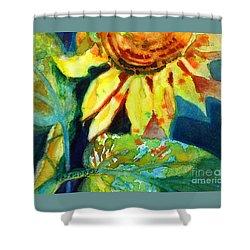 Sunflower Head 4 Shower Curtain by Kathy Braud