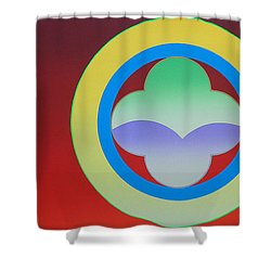 Sunlight Shower Curtain by Charles Stuart