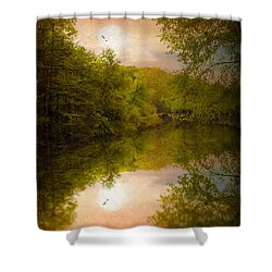 Sunrise 2 Shower Curtain by Jessica Jenney