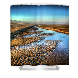 Sunrise At Rockaway Beach Oregon Shower Curtain by Spencer McDonald
