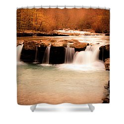 Sunset On King's River Shower Curtain by Tamyra Ayles