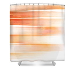 Shower Curtain featuring the painting Sunset Sea, Reflection by Frank Tschakert