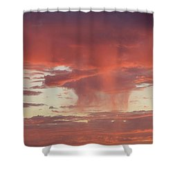 Sunset Sky Shower Curtain by Nina Prommer