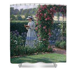 Sweet Solitude Shower Curtain by Edmund Blair Leighton