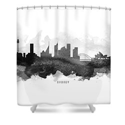 Sydney Cityscape 11 Shower Curtain by Aged Pixel