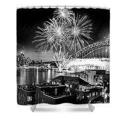 Sydney Spectacular Shower Curtain by Az Jackson