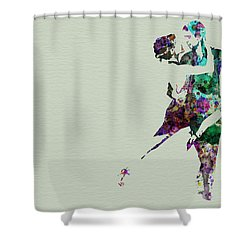 Tango Shower Curtain by Naxart Studio