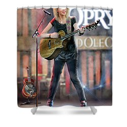 Taylor At The Opry Shower Curtain by Don Olea