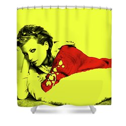 Taylor Swift 10r Shower Curtain by Brian Reaves
