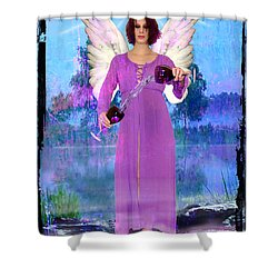 Temperance Shower Curtain by Tammy Wetzel