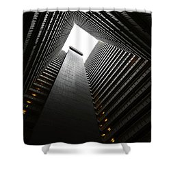 The Abyss, Hong Kong Shower Curtain by Reinier Snijders