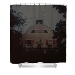 The Amityville Horror Shower Curtain by Rob Hans