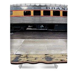 The Anasazi Shower Curtain by Joe Kozlowski