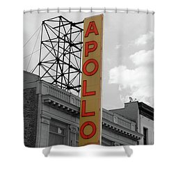 The Apollo In Harlem Shower Curtain by Danny Thomas
