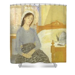 The Artist In Her Room In Paris Shower Curtain by Gwen John