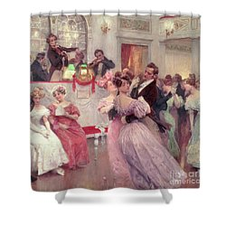 The Ball Shower Curtain by Charles Wilda