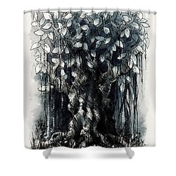 The Beautiful Tree Shower Curtain by Rachel Christine Nowicki