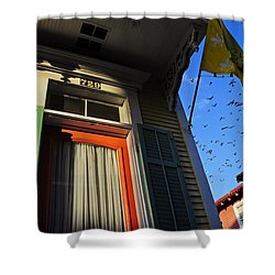 The Birds Shower Curtain by Skip Hunt