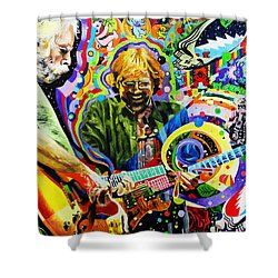 The Boys Of Summer Shower Curtain by Kevin J Cooper Artwork