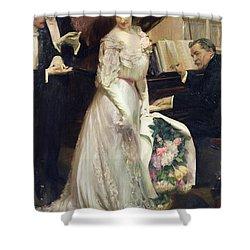 The Celebrated Shower Curtain by Joseph Marius Avy