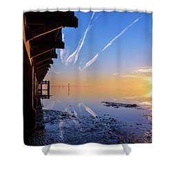 Shower Curtain featuring the photograph The Chosen by Thierry Bouriat