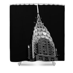 The Chrysler Building Shower Curtain by Vivienne Gucwa
