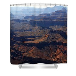 The Colorado River Shower Curtain by Susanne Van Hulst
