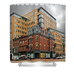 The Corner Shower Curtain by Christopher Holmes