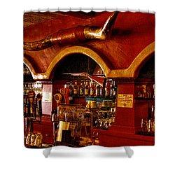 The Cowboy Club Bar In Sedona Arizona Shower Curtain by David Patterson