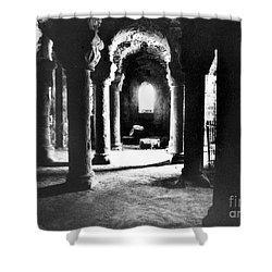 The Crypt Shower Curtain by Simon Marsden
