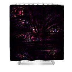 The Deceiver Shower Curtain by Rachel Christine Nowicki
