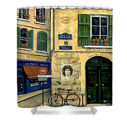 The Doors Shower Curtain by Marilyn Dunlap